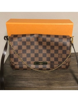 Louis Vuitton Favorite Mm In Damier Ebene   Nwt by Louis Vuitton