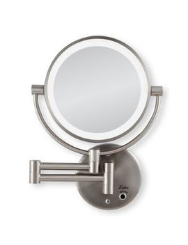 Zadro™ 10x/1x Cordless Led Lighted Wall Mirror by Bed Bath And Beyond