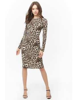 Leopard Print Dress by Forever 21