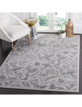 Safavieh Carnegie Vintage Silver/ Grey Distressed Rug by Safavieh