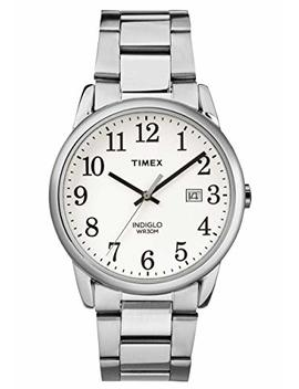 Timex Mens Easy Reader With A Stainless Steel Bracelet Watch by Amazon