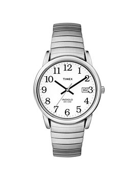 Timex Men's Quartz Easy Reader Watch With Analogue Display And Stainless Steel Expandable Bracelet by Amazon