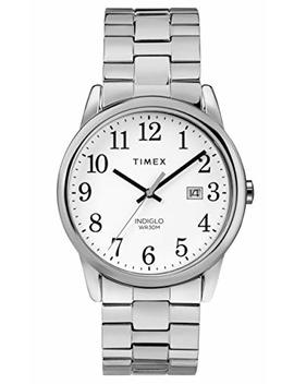Timex Men's Easy Reader On A Stainless Steel Bracelet Watch by Amazon
