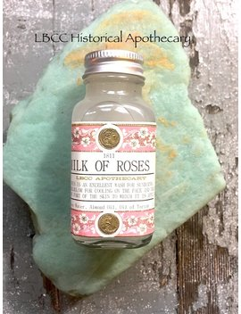 Milk Of Roses   1811 Jane Austen & Popular Beauty Treatment The Regency Period. Natural Toner Rose Skin Toner Rose Moisturizer Rose Toner by Etsy
