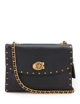 Coach Border Rivets Parker 18 Shoulder Bag by Coach