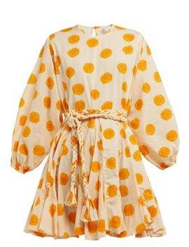 Ella Floral Print Cotton Mini Dress by Rhode Resort