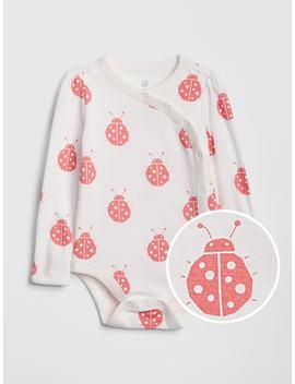 Ladybug Kimono Bodysuit by Gap