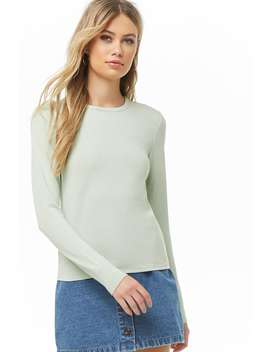 Basic Long Sleeve Tee by Forever 21