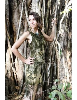 Freaky Forest Braided Dress by Etsy