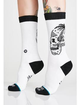 Skull Palm Crew Socks by Stance