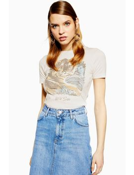 Wild Side T Shirt by Topshop