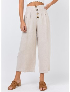 The Harris Pants Beige by Princess Polly
