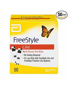 Freestyle Lite Glucose Test Strips 50 Count by Freestyle