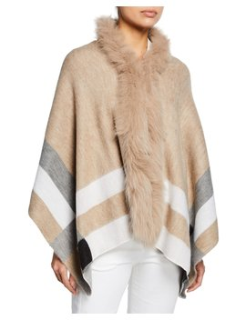 Fur Collar Wrap by Neiman Marcus