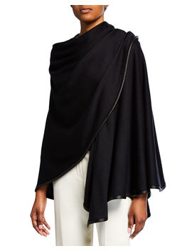Summer Jersey Circle Cape by Loro Piana