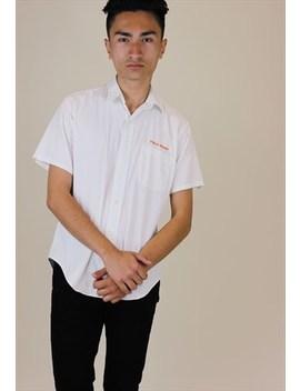 Ralph Lauren Vintage Shirt Short Sleeve White by Polo Ralph Lauren