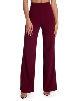 So Chic Straight Leg Pants by Windsor