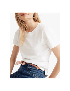 Madewell Northside Vintage T Shirt, White Wash by Madewell