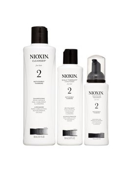 Nioxin System 2 Start Kit, 3 Piece Set by Nioxin