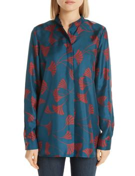 Brayden Silk Blouse by Lafayette 148 New York