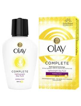 Olay Complete Lightweight 3in1 Moisturiser Normal/Oily 100ml by Superdrug