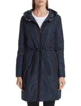 Bruant Down Hooded Coat by Moncler