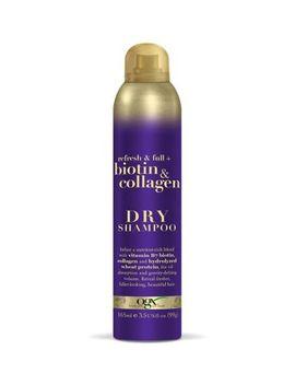 Ogx Refresh & Full + Biotin & Collagen Dry Shampoo 165ml by Organix