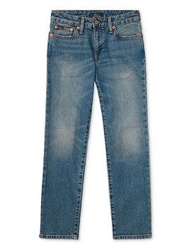 Ralph Lauren Big Boys Hampton Straight Fit Jeans by Polo Ralph Lauren