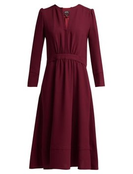 Bing Belted Crepe Dress by A.P.C.