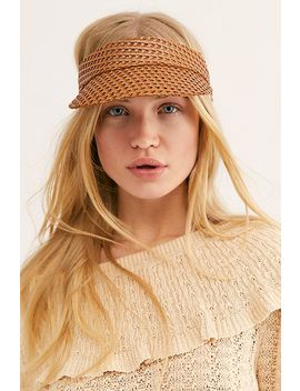 Tuscon Woven Visor by Free People