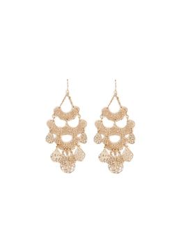 Filigree Chandelier Earrings by Forever 21