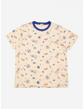 Levis Vintage Clothing Graphic T Shirt   All Over Creme Brulee by Levi's Vintage Clothing