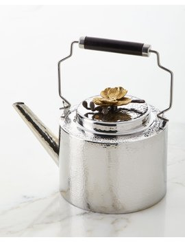 Orchid Teapot by Michael Aram