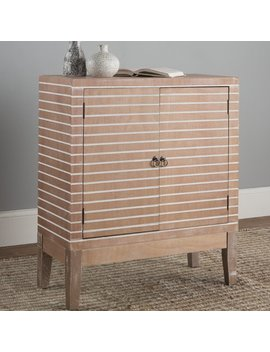Bungalow Rose Polen 2 Door Wood Accent Cabinet & Reviews by Bungalow Rose