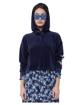 Velour Juicy Wildstyle Pullover by Juicy Couture