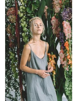 Maxi Linen Dress / Linen Dress / Summer Dress / Minimal Linen Dress / Linen Women Clothes / Simple Dress / Linen Clothing by Etsy