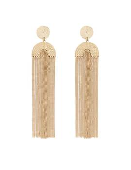 Geo Duster Earrings by Forever 21
