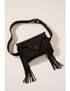 Frankie Suede Belt Bag by Jj Winters