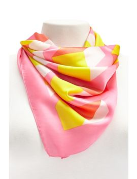 Satin Geo Scarf by Forever 21