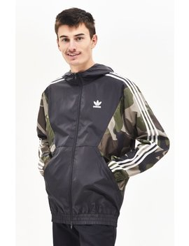 Adidas Camouflage Windbreaker by Pacsun