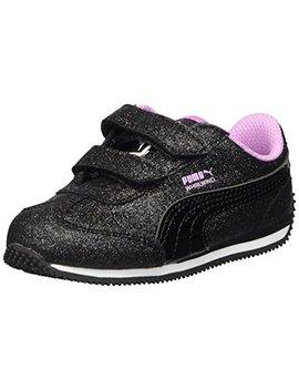 Puma Unisex Kids' Whirlwind Glitz Velcro Sneaker by Puma