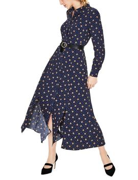 Polka Dot Midi Shirtdress by Boden