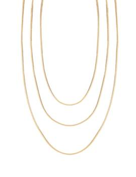 High Polish Layered Necklace by Forever 21