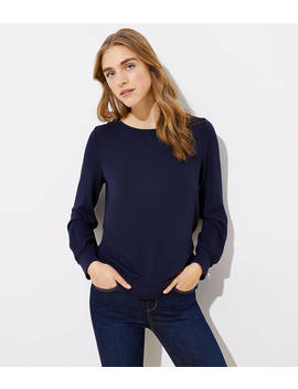 Wrap Bar Back Top by Loft