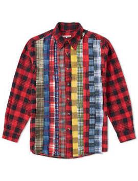 Needles Rebuild Ribbon Flannel Shirt by End.