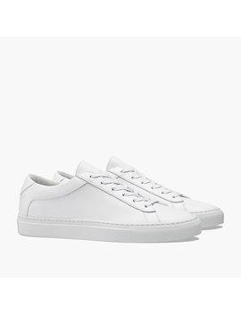 Unisex Koio Capri Triple White Sneakers by J.Crew