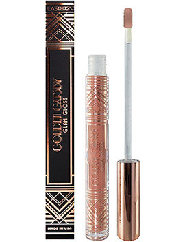 Online Only Golden Gatsby Glam Lip Gloss by La Splash Cosmetics