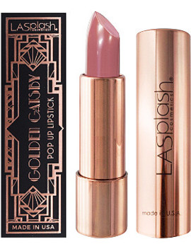 Online Only Golden Gatsby Pop Up Lipstick by La Splash Cosmetics