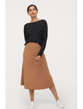 Jersey Crêpe Skirt by H&M