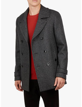 Ted Baker Grilld Peacoat, Grey by Ted Baker